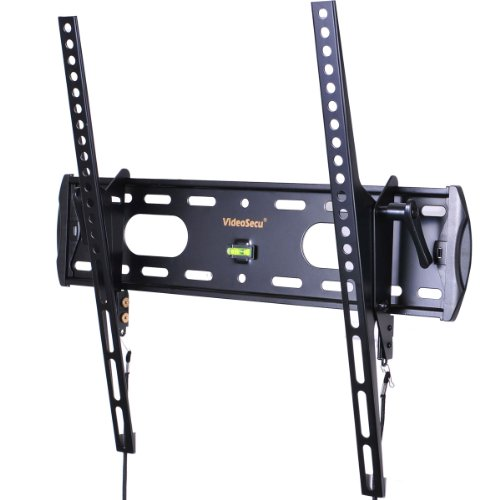 Videosecu Tv Wall Mount Tilt Small Profile Extremely Slim Television Bracket For Most 26 Forty Seven Led Liquid Crystal Display Plasma